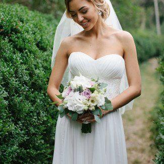 фото свадебных букетов - Love Story