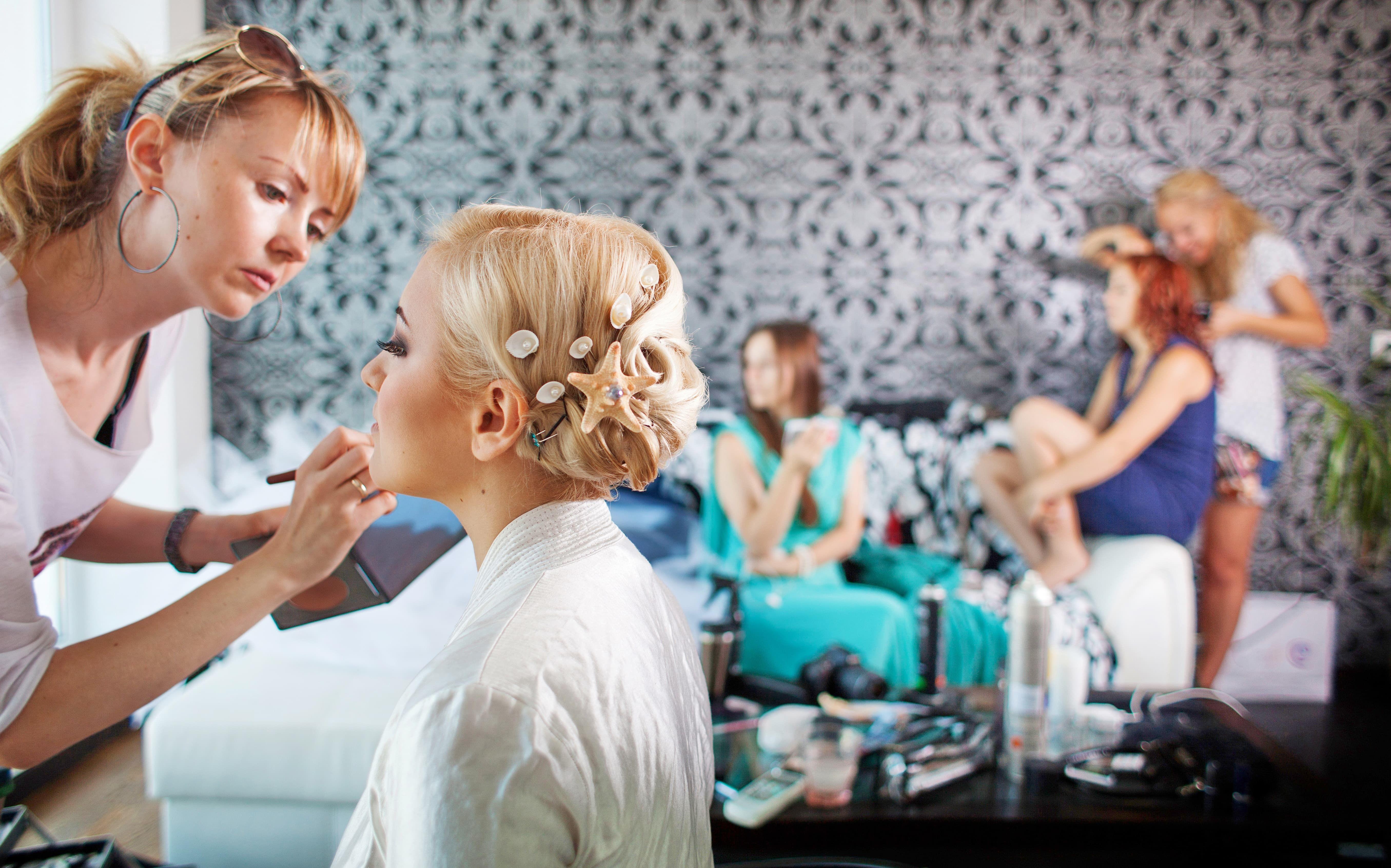 свадебный макияж Одесса - Love Story
