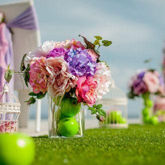 Цветочное оформление свадьбы Одесса