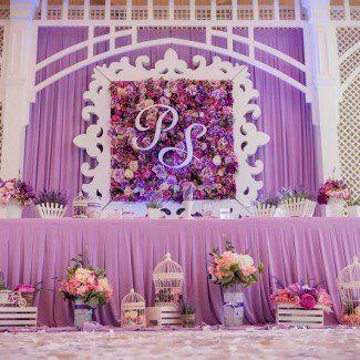 цветочное украшение свадебного зала Одесса