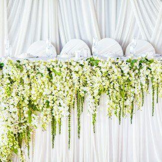 цветочные композиции в оформлении свадебного стола