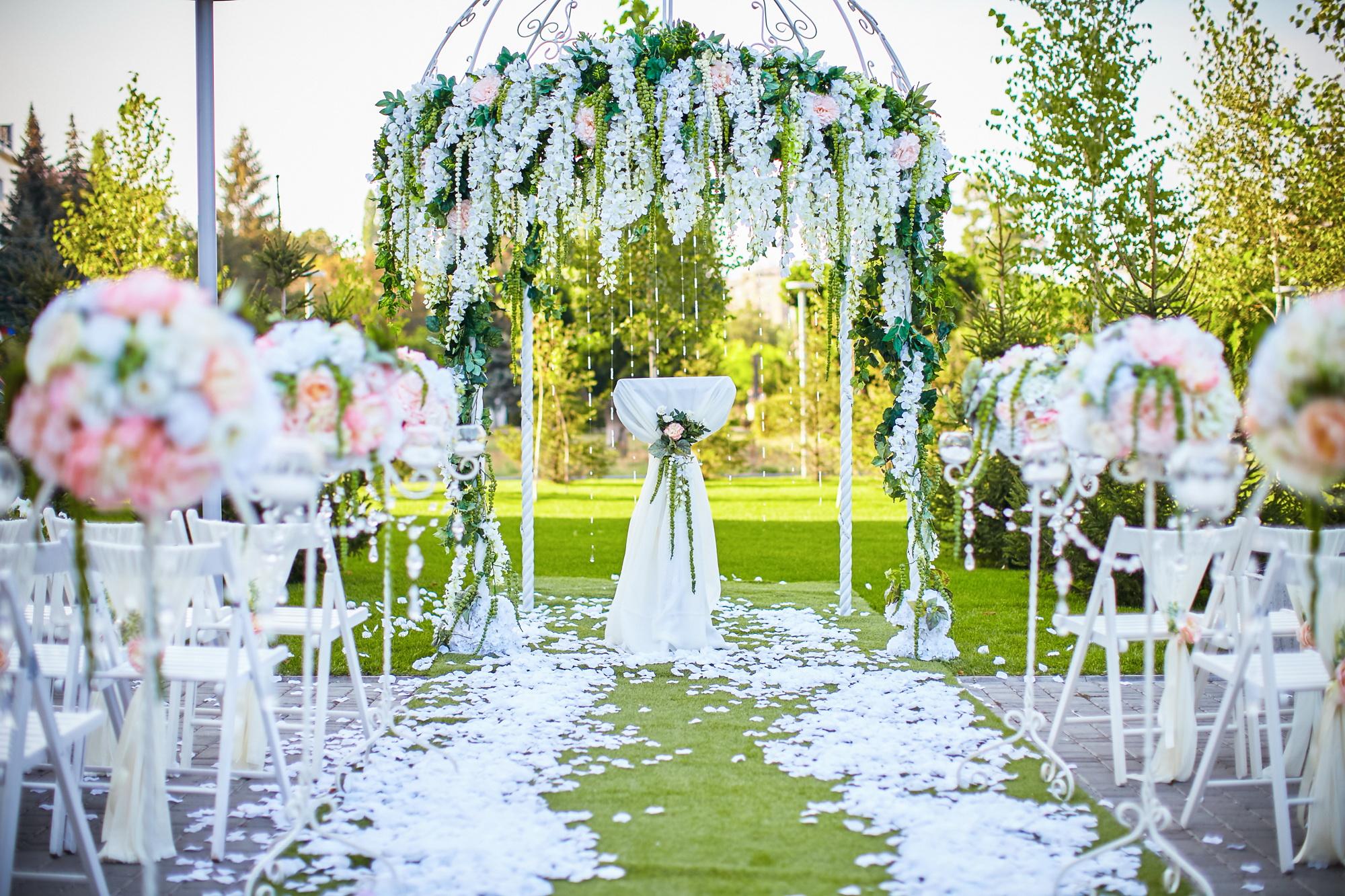 Свадебная арка. Сведебный декор