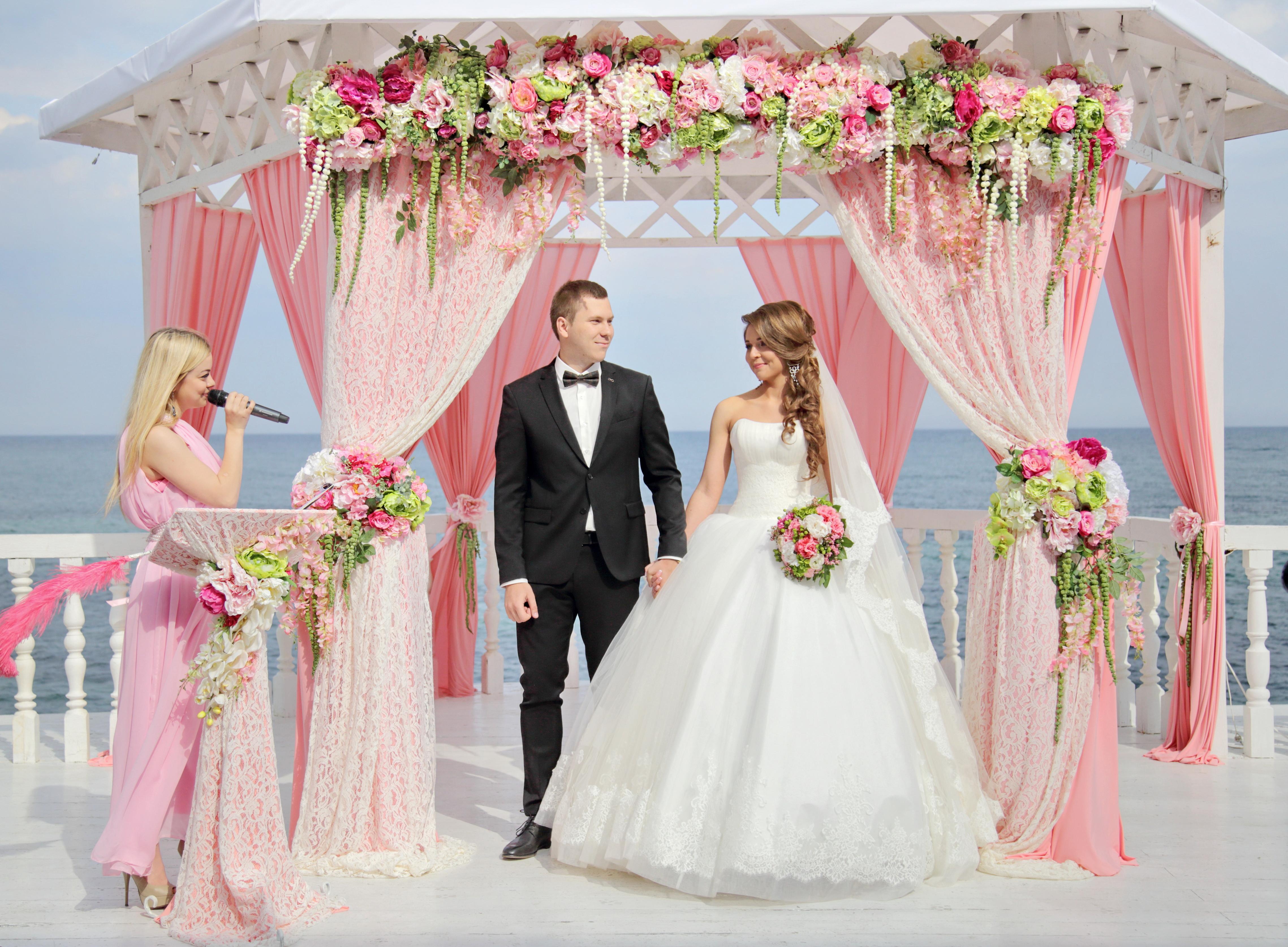 Свадьба кружево