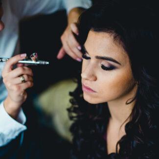 свадебный макияж и прическа одесса