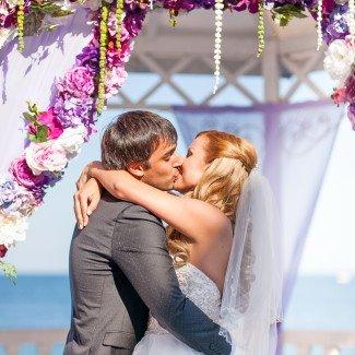 выездная церемония брака - студия стильных свадеб Love Story