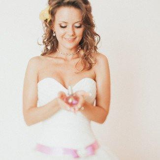 свадебный макияж для блондинки одесса
