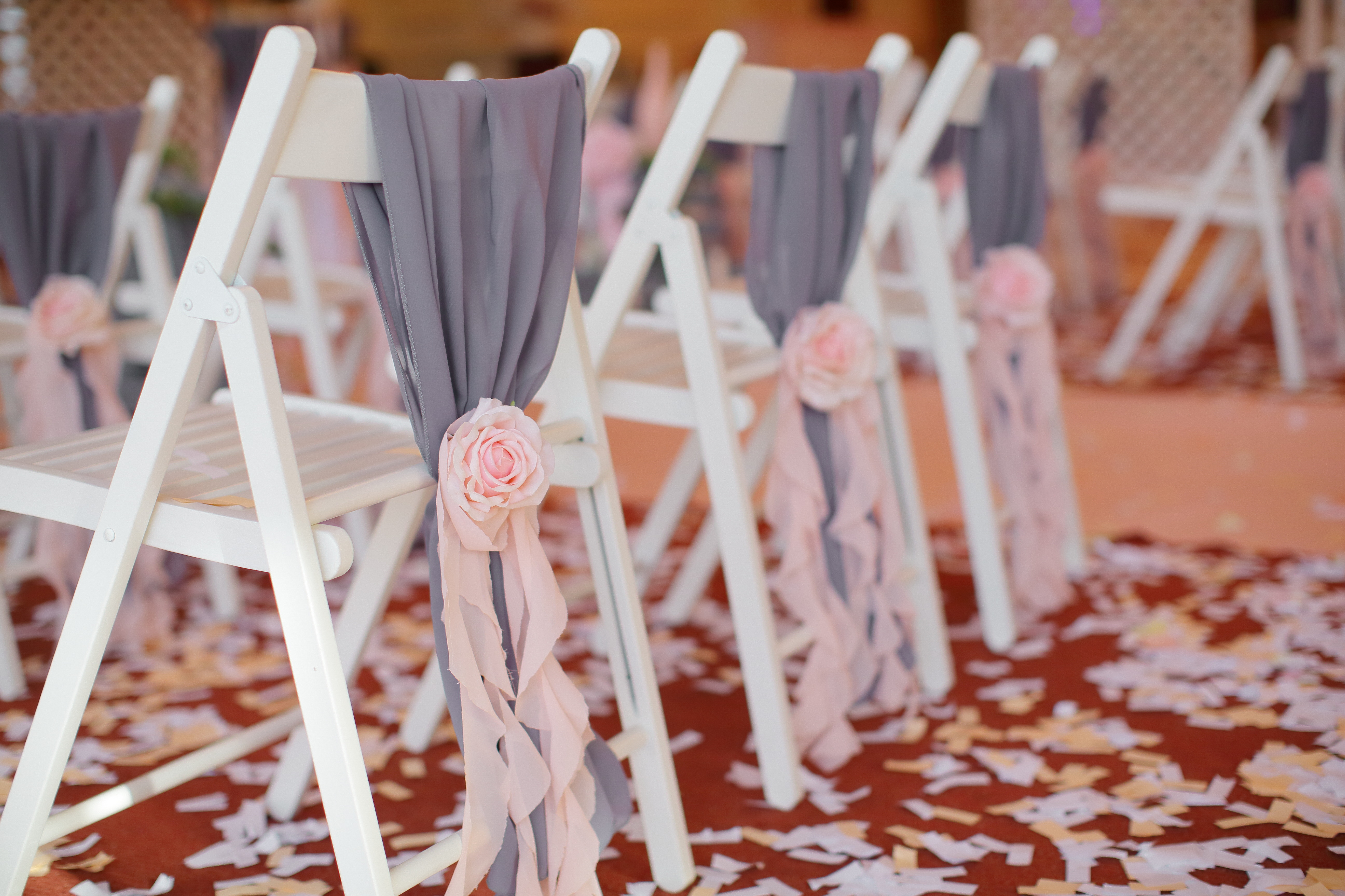 свадебное украшение зала Одесса