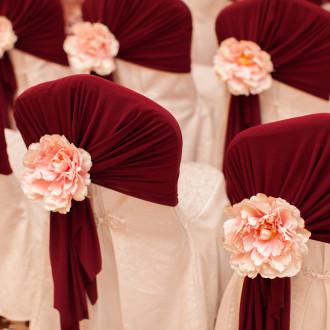 Свадебное оформление стульев Одесса