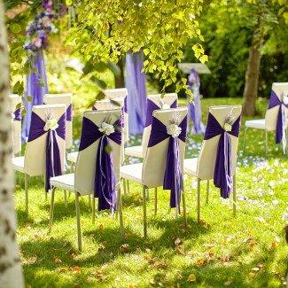 Свадебный декор Одесса. Лавандовая свадьба