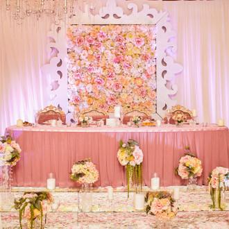Оригинальное оформление свадебного зала Одесса