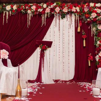 Оформление зала на свадьбу Одессе