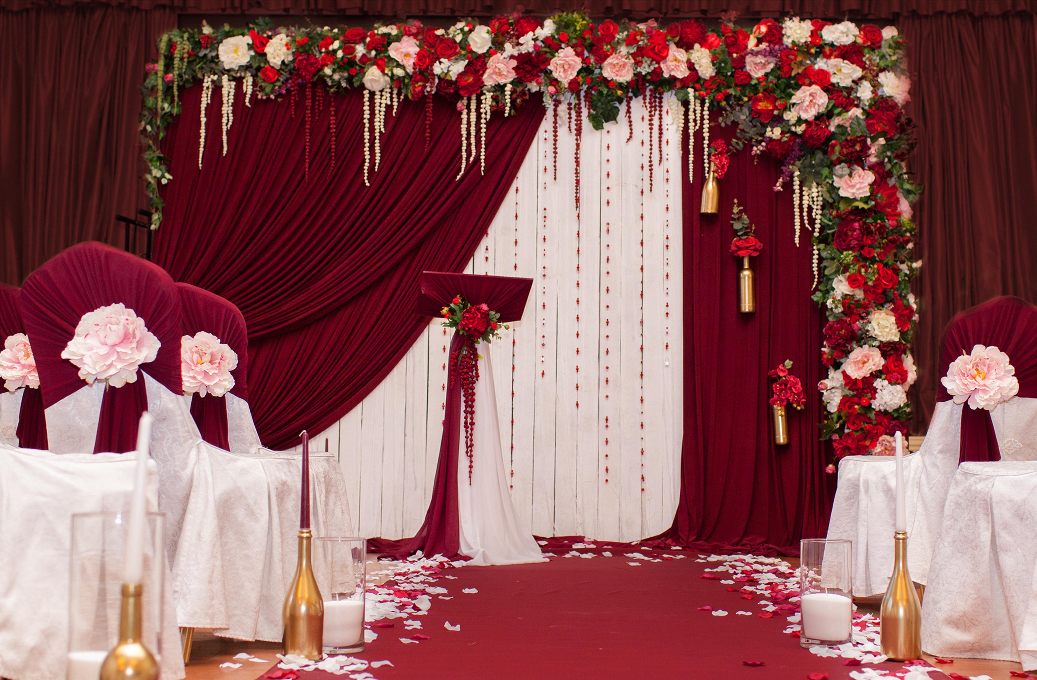 Свадьба марсала цвет фото