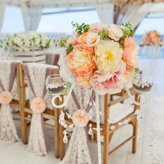 свадебный декор. цветочное оформление свадьбы