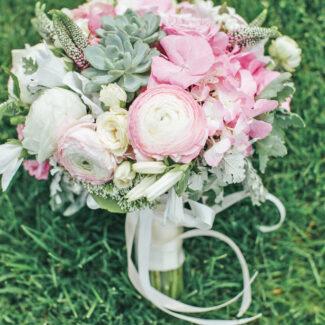 осенний свадебный букет - студия стильных свадеб Love Story