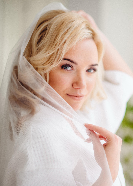 утро невесты. макияж