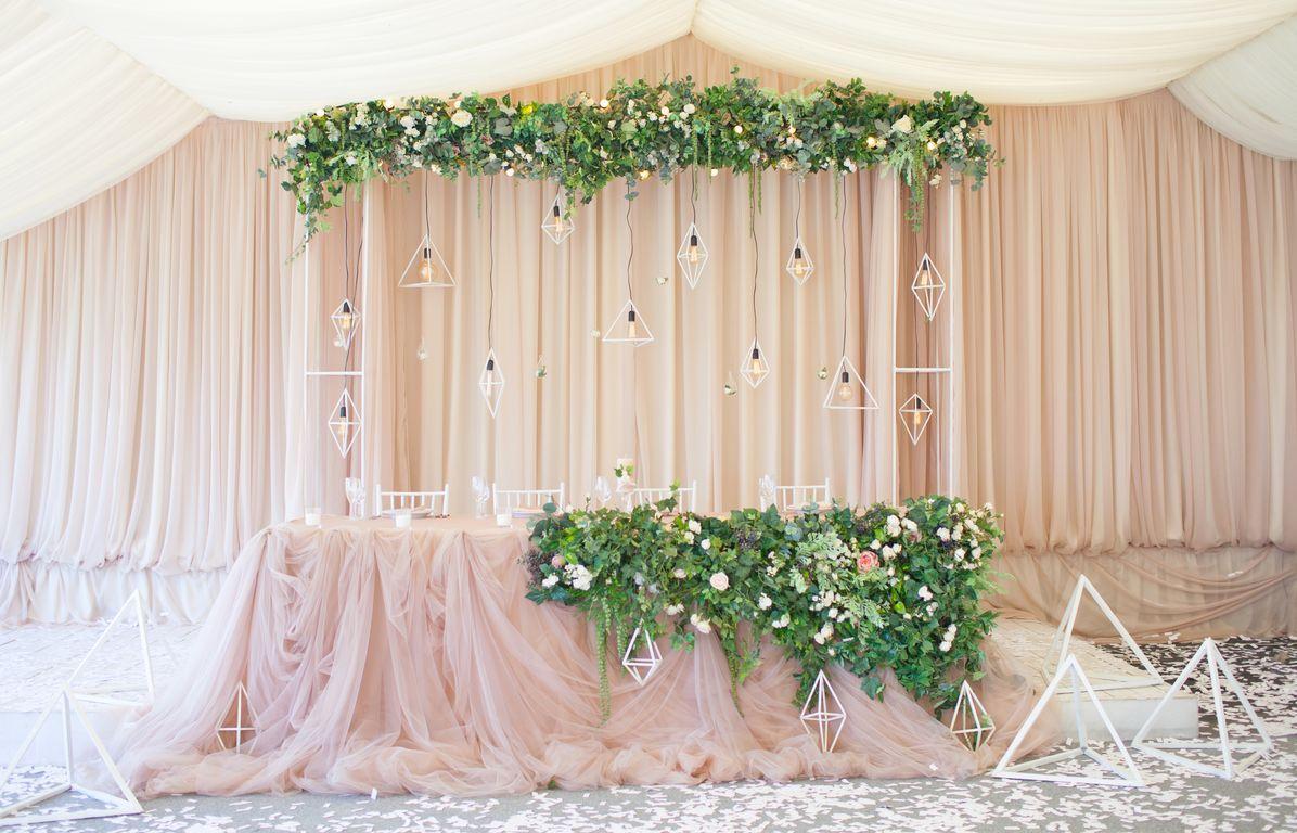 оформления залов на свадьбу - Love Story